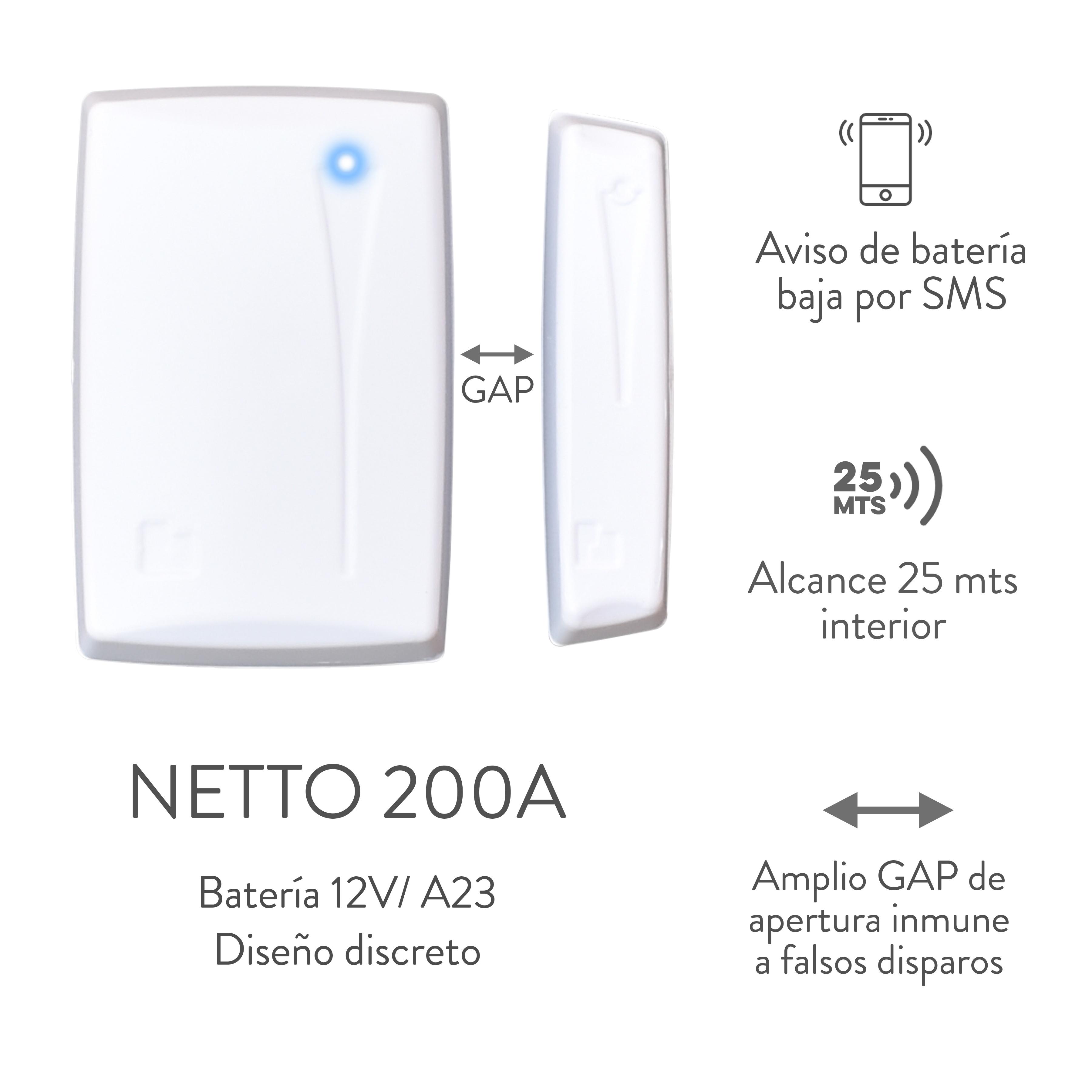 SENSOR MAGNETICO NETTO 200A